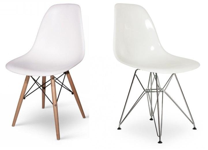 какие бывают ножки у стула Eames