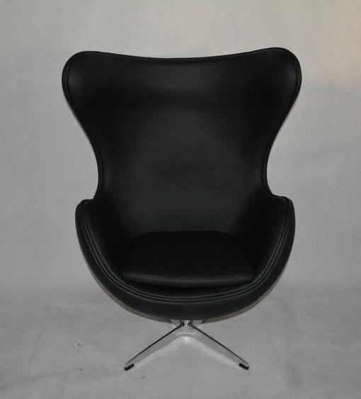 кожаное кресло яйцо