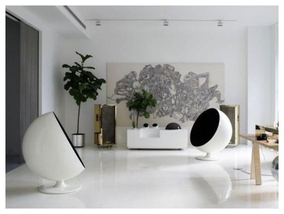 комната с двумя креслами