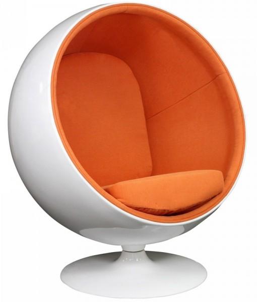оранжевая отделка