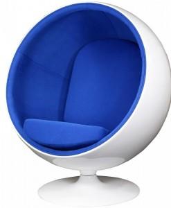 синяя отделка
