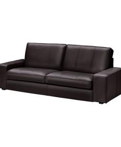 Черный диван Киви