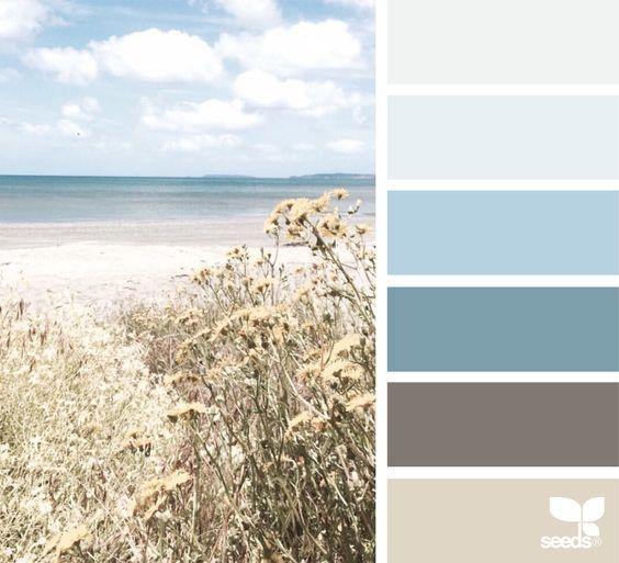 цвета в морском стиле