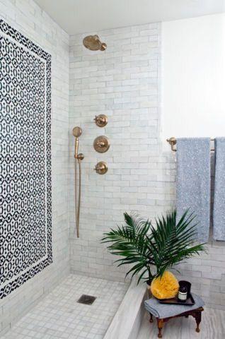 плитка мозаика на стенах ванной
