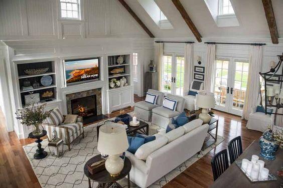 Расстановка мебели в гостиной - как правильно?